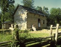 Abraham Lincoln's Log Cabin And Farm Land For Sale