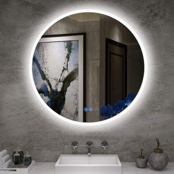 This is the lighted fog-free mirror that we are having installed in our new master bathroom.