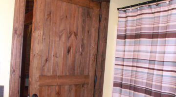 Bathroom Door Dilemmas… Pocket Doors To The Rescue!