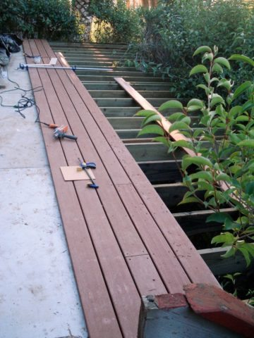 installing choicedek composite decking