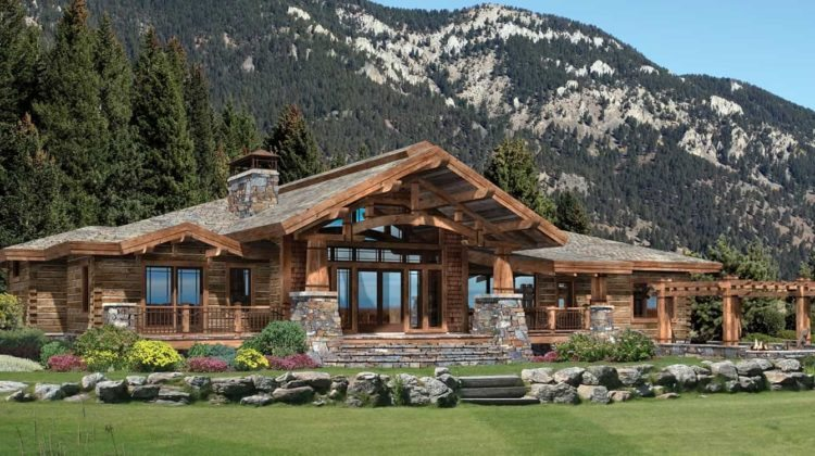 The log home guide build and design a log home rustic for Craftsman log home plans