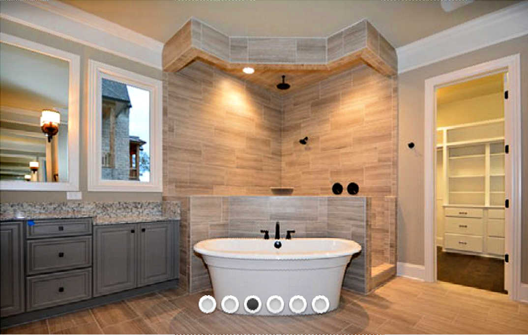 Our Master Bathroom & Spa Shower Plans (…Plus 15 Of The Best Doorless Walk-In Shower Ideas!)