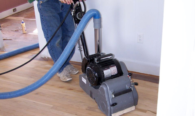 Dustless Hardwood Floor Refinishing Pros Cons The Log Home Guide