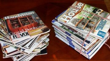Recycled Home Magazines… The Best Gift Of All!