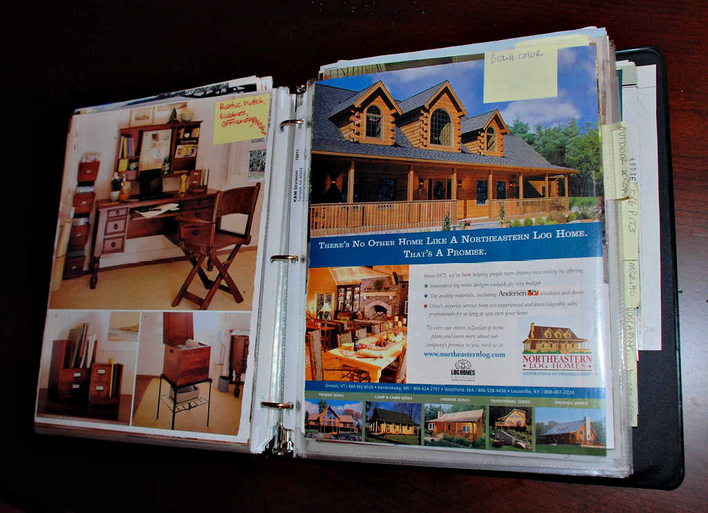 Tips For Creating An 'Idea Notebook' Filled With Dream House Ideas