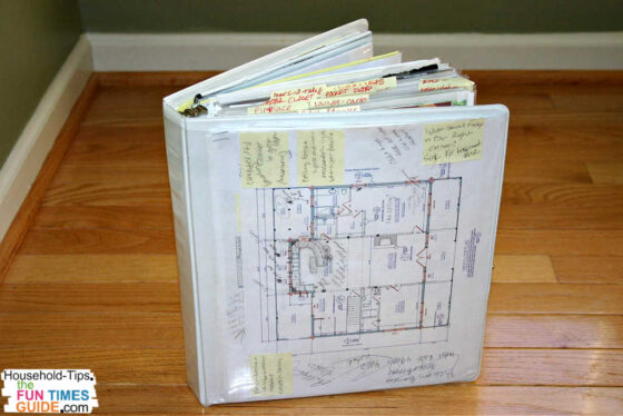This is version 3.0 of my idea notebook for storing everything that I might like to include in my future dream home. See how to make your own!