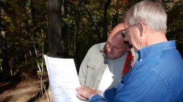 Getting The Lay Of The Land… Surveying The Property