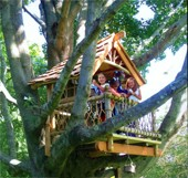 Treehouses & Hideaway Cabins You Can Build Yourself