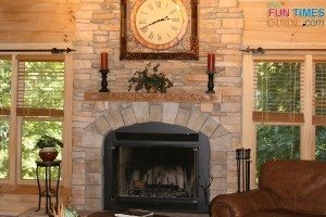 log-cabin-stone-fireplace