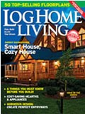 Log Home Living Magazine Cover