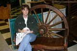 Lynnette at the Pigeon Forge, Tennessee Log Home and Timber Frame Show.