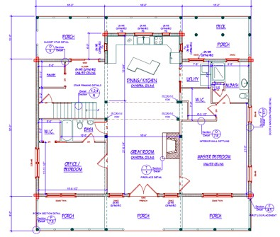 Transforming The Floor Plan You Like Best Into Actual Blueprints