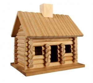 rustic-log-home-birdhouse
