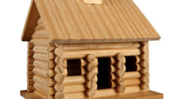 Wooden Birdhouses: Think Of 'Em As Log Homes For Your Birds!
