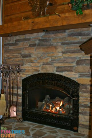 rustic-log-home-fireplace