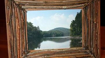 Picture Frames Made From Sticks And Twigs
