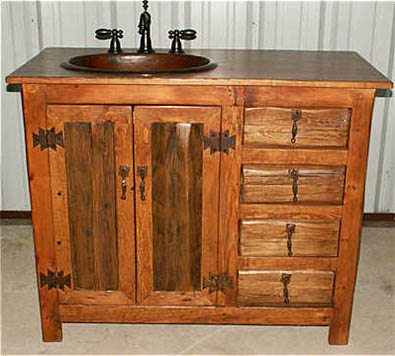 Amazing Pics Photos  Rustic Bathroom Vanity Rustic Bathroom Vanity With