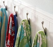 Towel Hooks & Hangers For Bathroom Towels And Robes
