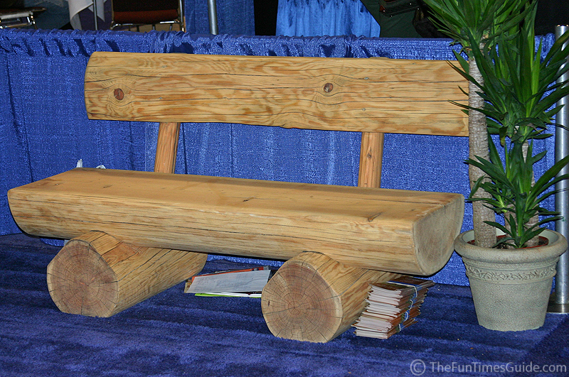 Log Bench Plans Plans DIY Free Download How To Build A Garden ...