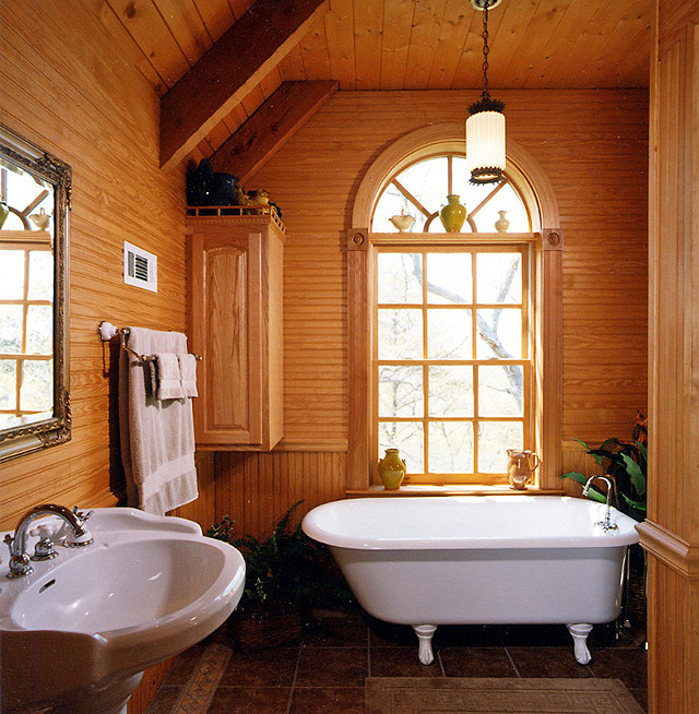 candle friendly bathroom jpg claw tub and pedestal sink jpg. Pictures of Log Home Bathrooms   The Log Home Guide