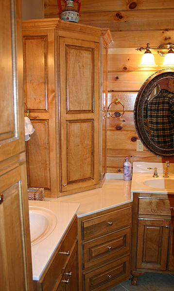 Bathroom Ideas Log Homes pictures of log home bathrooms | the log home guide