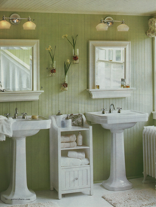 Bathrooms with painted walls home design blog for Bathroom decor green walls