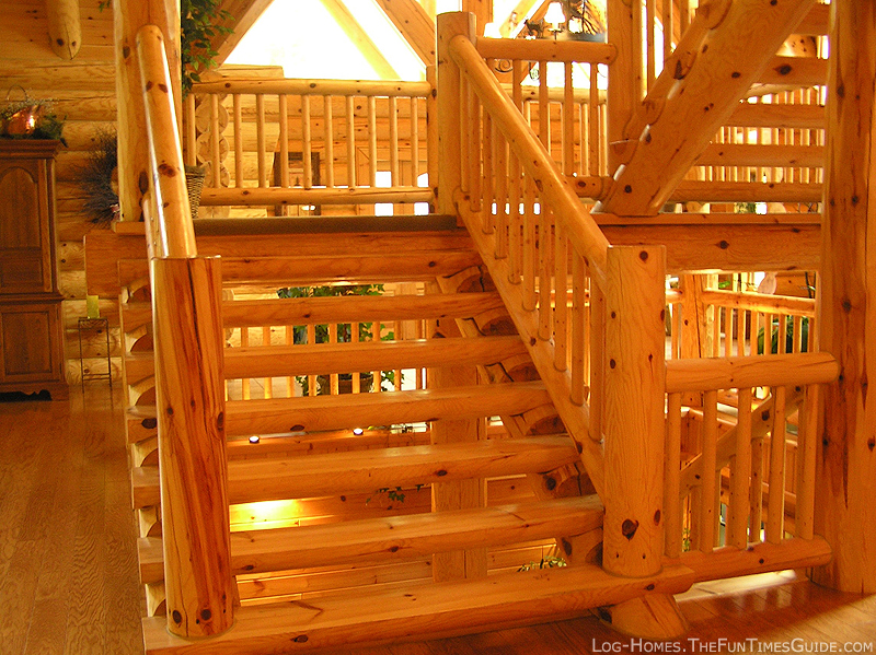 Beau Log Home Guide   Fun Times Guide