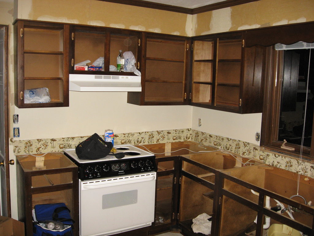 Building or remodeling a kitchen what does it cost the for Kitchen bathroom remodel