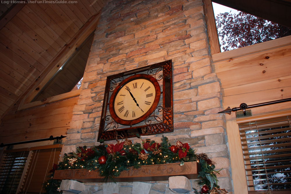 how to find fun christmas decorations for your log home