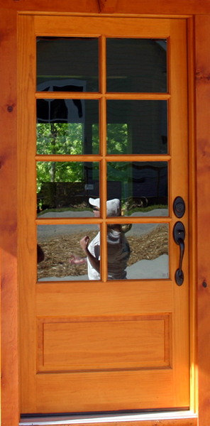 The Exterior Doors We Chose For Our Log Home The Log