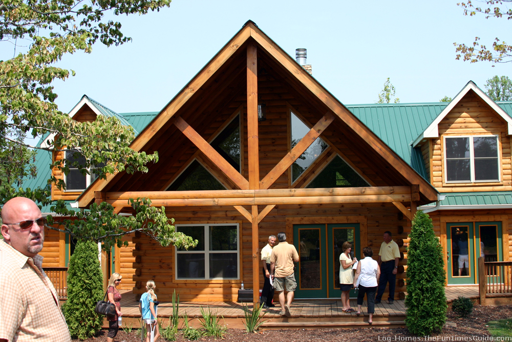Green log awards recognize green products for log homes for Green home guide