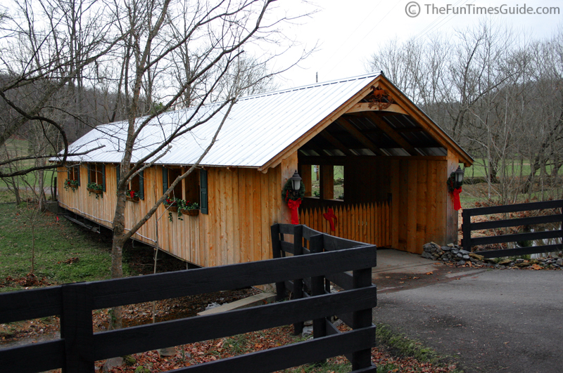 Wooden Covered Bridge For Log Home Owners The Log Home Guide