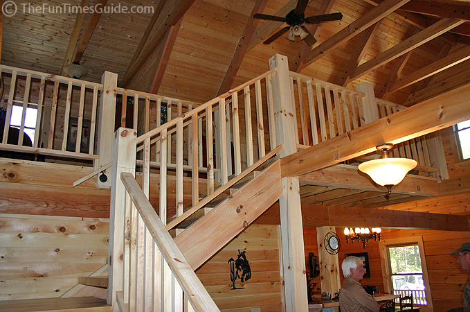 Lonnie And Sherry S Log Home The Log Home Guide