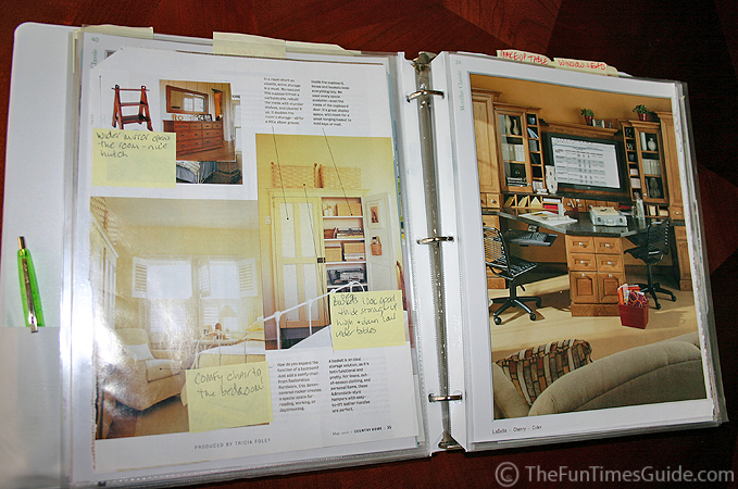 Tips For Creating An \'Idea Notebook\' Filled With Home Design Ideas ...